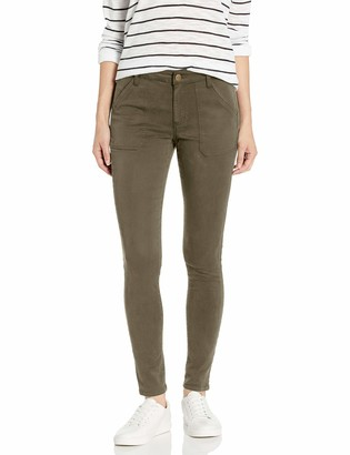 Daily Ritual Amazon Brand Women's Sateen Skinny Utility Pant