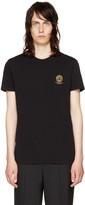 Versace Underwear Black Small Medusa Logo T-shirt
