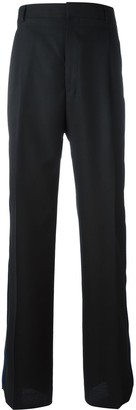 Givenchy Hook And Loop Strap Trousers