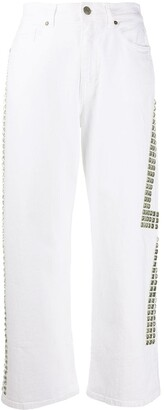 P.A.R.O.S.H. Caba cropped jeans