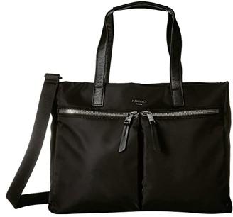 Knomo London Mayfair Blenheim Tote (Black) Tote Handbags