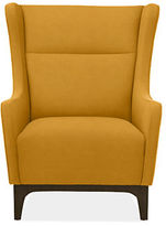 Room & Board Marcel Chair & Ottoman in Vance Fabric