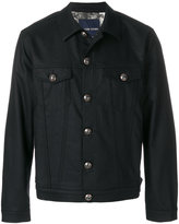 Jacob Cohen leaf lining denim jacket