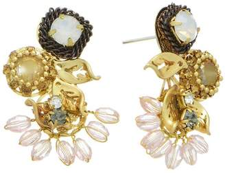 mimis Mimi's Gift Gallery Vintage Crystal Earrings