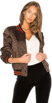 Bailey 44 Leopard Jungle Bomber Jacket in Black. - size S (also in )