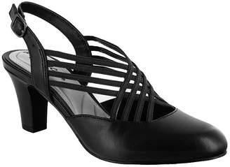 Easy Street Shoes Womens Sapphire Pumps Round Toe Spike Heel