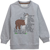 Sovereign Code Heather Gray 'Alpaca' Zoo Sweatshirt - Boys