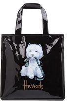 Harrods Small Westie With Lead Shopper Bag