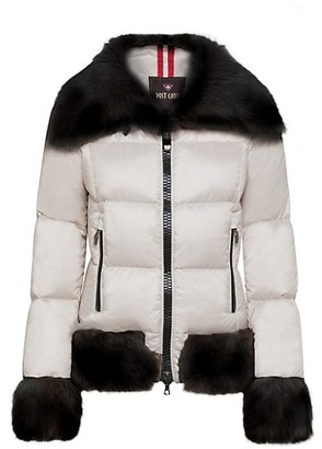 Post Card Dardana Sheepskin & Fur Down Jacket