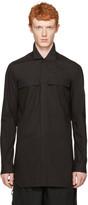 Rick Owens Black Field Shirt