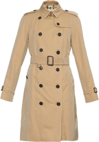 Burberry Westminster long-length gabardine trench coat