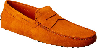 Tod's Suede Driving Shoe