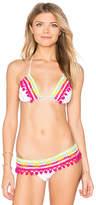 Anna Kosturova Astral Nomad Bikini Top in White. - size L (also in M,S,XS)