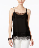 INC International Concepts Lace-Trim Shell, Only at Macy's