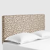 Snow Leopard Loran Upholstered Headboard