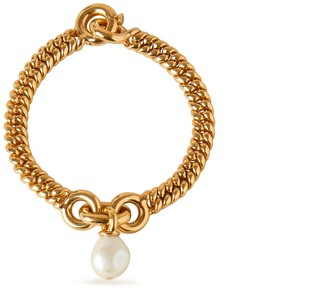 Mulberry Baroque Grace Pearl Bracelet Mother of Pearl Brass