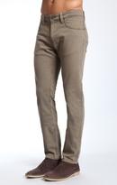 Mavi Jeans Jake Slim Leg In Olive Comfort