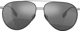 Burberry Eyewear Oversized Aviator Sunglasses