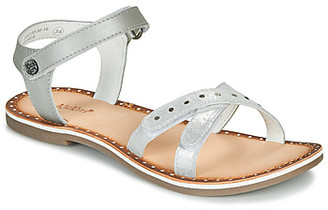 Kickers DIDONC girls's Sandals in Silver