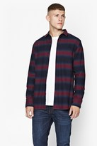 French Connection Bailey Ombre Striped Shirt