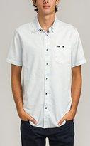RVCA Men's Cirrus Short Sleeve Woven Shirt