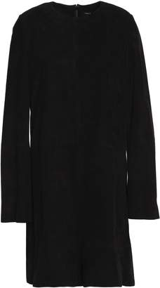 Theory Studded Suede Mini Dress