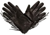 Valentino Leather Fringe Gloves w/ Tags