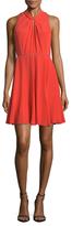 Rebecca Taylor Silk Twist A Line Dress