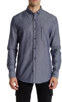 Sovereign Code Quantum Herringbone Shirt