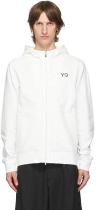 Y-3 White CH1 GFX Hoodie