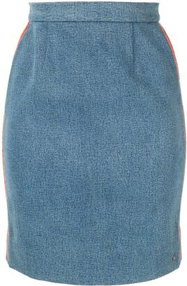 Chanel Pre-Owned CC logo skirt