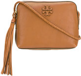 Tory Burch embossed logo crossbody bag - women - Leather - One Size