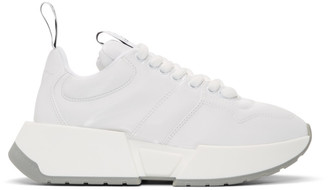 MM6 MAISON MARGIELA White Padded Low-Top Sneakers