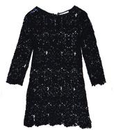 Le Fleur Du Mal Guipure Lace Mini Dress