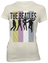 Bravado The Beatles Cream Pastel Stripe Tee - Juniors