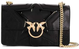 Pinko Love Classic quilted-star shoulder bag