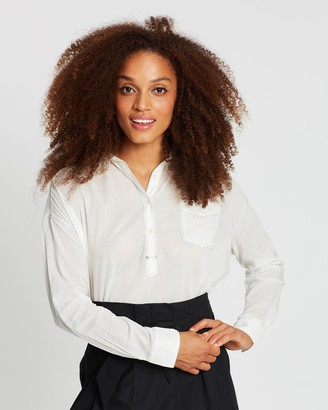 Maison Scotch Lightweight Cotton Shirt