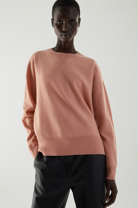 Cos Relaxed Merino Wool Sweater