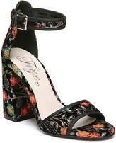 Fergie Women's Courtney Sandal -Black/Multicolor
