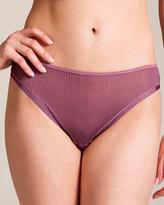 Dana Pisarra Parigi Ribbed Silk Bikini