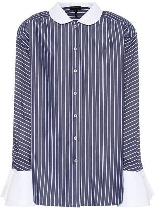 Marc Jacobs Striped cotton shirt