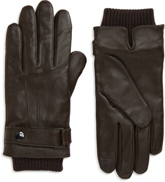 HUGO BOSS Hakani Leather Gloves