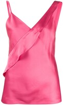 Helmut Lang ruffle camisole top