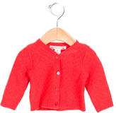 Bonpoint Girls' Cashmere Button-Up Cardigan
