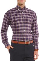 Daniel Cremieux Signature Slim-Fit Heather Check Long-Sleeve Woven Shirt