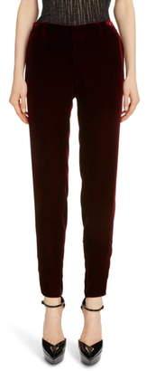 Saint Laurent Slim Velvet Pants