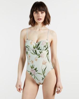 Ted Baker Balconette Floral Swimsuit