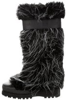 Chanel Fantasy Faux Fur Boots