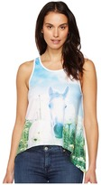 Roper 0949 Poly Spandex Swing Tank Top Women's Sleeveless
