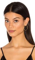 joolz by Martha Calvo Front Hoop Earrings